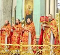 Пасхальное богослужение в Спасо-Яковлевском Димитриевом монастыре. 2020 год