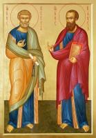 Образ святых апостолов Петра и Павла