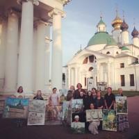 Пленер в Спасо-Яковлевской обители. Лето 2020 года