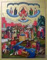Образ «Происхождение древ Креста Господня»