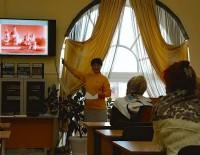 Встреча с читателями в Ростовской центральной библиотеке
