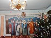 Праздничное убранство зала