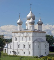 Спасо-Преображенский храм Спасо-Яковлевского Димитриева монастыря. 7 июля 2019 г. Уильям Брумфилд