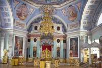 Собор святителя Димитрия Ростовского. Интерьер, вид на иконостас. 8 июля 2019 г. Уильям Брумфилд