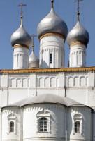 Церковь Спаса Преображения. Вид на восток с апсидой и куполами. 8 июля 2019 г. Уильям Брумфилд