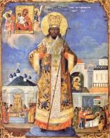 Образ святителя Димитрия Ростовского