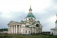 Собор святителя Димитрия Ростовского, вид с юго-запада. 5 августа 1995 г. Уильям Брумфилд