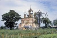Церковь Спаса Преображения, вид с юго-востока. 29 июля 1997 г. Уильям Брумфилд