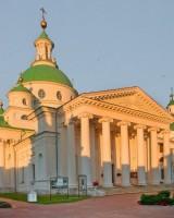 Собор святителя Димитрия Ростовского, вид северо-запада, на закате. 7 июля 2019 г. Уильям Брумфилд
