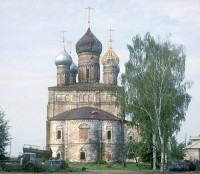 Церковь Спаса Преображения. Восточный вид. 29 июля 1997 г. Уильям Брумфилд