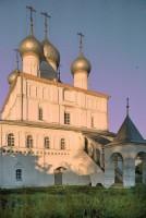 Церковь Спаса Преображения. Северо-западный вид в вечернем солнечном свете. 7 июля 2019 г. Уильям Брумфилд