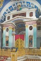 Собор святителя Димитрия Ростовского. Интерьер, вид на иконостас. 7 июля 2019 г. Уильям Брумфилд