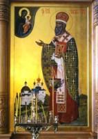 Святитель Иаков Ростовский. Икона местного ряда иконостаса Яковлевского храма