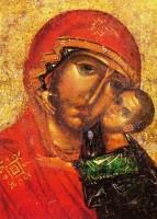 Образ Толгской иконы Божией Матери