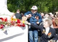 Возложение цветов к памятнику Неизвестного солдата на Ростовском воинском кладбище
