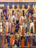 Икона Происхождение Честных Древ Животворящего Креста Господня