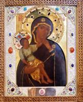 Ватопедская икона Божией Матери – келейный образ свт. Димитрия Ростовского.