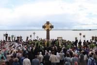 Освящение Памятного Креста в честь 1000-летия преставления св. князя Владимира 5 июня 2015 г.