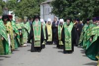 Крестный ход день Собора Ростово-Ярославских святых в Спасо-Яковлевском монастыре 5 июня 2015 г.