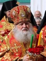 Митрополит Ярославский и Ростовский Пантелеимон. Крестный ход в Спасо-Яковлевском монастыре 13 апреля 2015 года