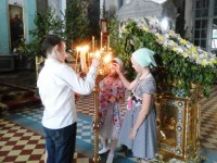В храме свт. Димитрия, после службы. 31 мая 2015 г.