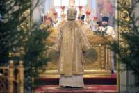 Богослужение митрополита Пантелеимона в Спасо-Яковлевском Димитриевом монастыре 8 января 2015 года