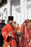 Крестный ход в Спасо-Яковлевском монастыре 13 апреля 2015 года