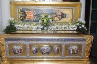 Рака Святителя Димитрия Ростовского в  Димитриевском храме Спасо-Яковлевского монастыря