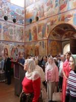 Божественная Литургия в церкви Иоанна Богослова Ростовского кремля. 14 августа 2015 г.