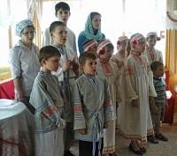 Выступление учащихся Воскресной школы. 31 мая 2015 г.