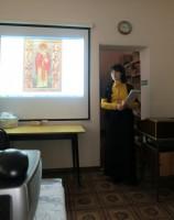 Встреча с читателями в Библиотеке имени В. Замыслова 25 декабря 2014 г.