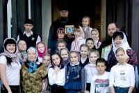 Луганские школьники в гостях у монастыря. 11-12 мая. 2016 г.