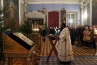 Рождественское Богослужение в ночь на 7 января 2016 г. в Спасо-Яковлевском Димитриевом монастыре.