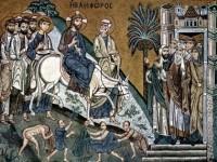 Вход Господень в Иерусалим. XII век