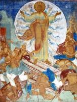 Воскресение Христа. Фреска Воскресенского храма Ростовского кремля. Вт. пол. XVII века