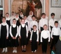 Выступление учеников воскресной школы в день памяти свт. Димитрия Ростовского 10 ноября 2016 г.