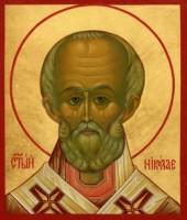 Образ Святителя Николая Чудотворца.
