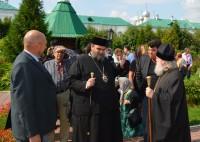 Посещение Спасо-Яковлевского монастыря митрополитом Кипрской Православной Церкви Тамасосским и Оринийским Исайей 23 августа 2016 г.