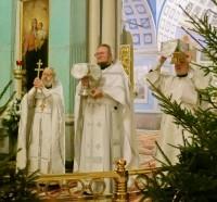 Рождественская служба в Спасо-Яковлевском Дмитриевом монастыре