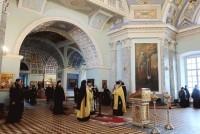 Молебен святителю Димитрию Ростовскому перед началом чтений