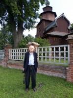 Посещение деревянной церкви Иоанна Богослова близ Ростова