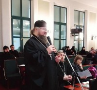 Выступление игумена Августина на круглом столе «Религиозный туризм и паломничество: общественные инициативы и миссия Церкви» 28 января 2019 г.