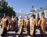 Крестный ход из Успенского собора в Спасо-Яковлевский монастырь 5 июня 2019 года