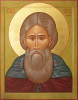 Образ преподобного Сергия Радонежского.