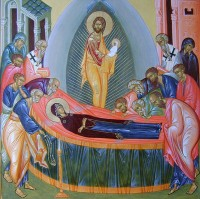 Образ Успения Пресвятой Богородицы.