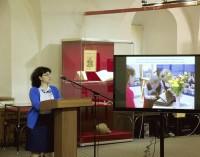 М. Л. Рубцова рассказывает о выставке о св. Димитрия Ростовского и ее путешествии по Ярославской области в 2018 году