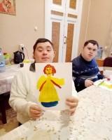 Творческие занятия в монастырской воскресной школе