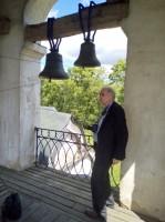 На колокольне Вознесенского храма