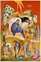 Рождество Христово. Современная икона