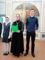 Концерт учеников воскресной школы в день памяти св. Димитрия Ростовского 10 ноября 2019 года